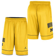 Jordan University of Michigan Basketball Maize Fast Break Shorts