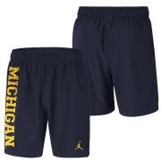 Jordan University of Michigan Football Navy Dri-FIT Practice Shorts
