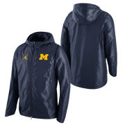 Jordan University of Michigan Basketball Navy HyperElite Game Jacket