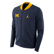 Jordan University of Michigan Basketball Navy Showtime Jacket