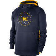 Jordan University of Michigan Basketball Navy Spotlight Hooded Sweatshirt
