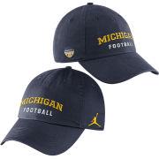 Jordan University of Michigan Football Orange Bowl Navy Heritage Slouch Hat