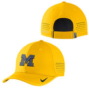 Nike University of Michigan Football Yellow Vapor Coaches Sideline Hat