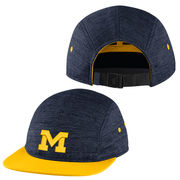 Jordan University of Michigan Navy Flyknit AW84 5 Panel Hat