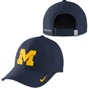 Nike University of Michigan Navy Heritage 86 Vapor Dri-FIT Hat