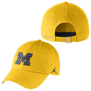 Jordan University of Michigan Yellow Unstructured Authentic Dri-FIT Hat