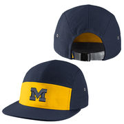 Nike University of Michigan Navy New Day AW84 5 Panel Dri-FIT Hat