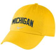 Nike University of Michigan Yellow Heritage86 Unstructured Hat