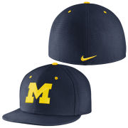 Nike University of Michigan Navy True Vapor Dri-FIT Fitted Hat