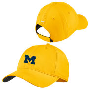 Nike Golf University of Michigan Yellow Dri-FIT Slouch Hat