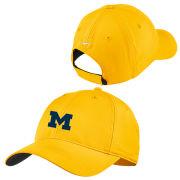 Nike Golf University of Michigan Yellow Dri-FIT Slouch Hat