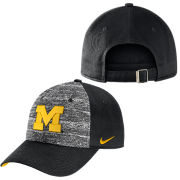 Nike University of Michigan Heathered Black Heritage86 Slouch Hat