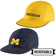 Jordan University of Michigan Reversible AW84 5 Panel Jogger Hat