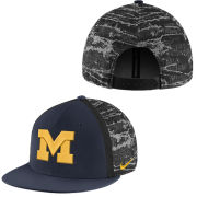 Nike University of Michigan DNA True Flat Brim Snapback Hat