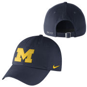 Nike University of Michigan Navy Unstructured Authentic Dri-FIT Hat