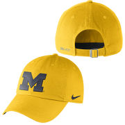 Nike University of Michigan Yellow Heritage86 Unstructured Authentic Dri-FIT Hat