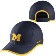 Nike University of Michigan Navy Dri-FIT Featherlight Unstructured Hat