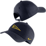 Nike University of Michigan Navy Heritage86 Pennant Slouch Hat