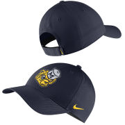 Nike University of Michigan Navy College Vault Wolverine Legacy91 Dri-FIT Tech Hat