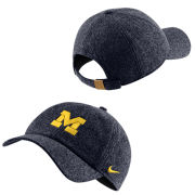 Nike University of Michigan Navy Wool Blend Heritage86 Unstructured Hat