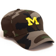Nike University of Michigan Camo Legacy91 Dri-FIT Tech Hat
