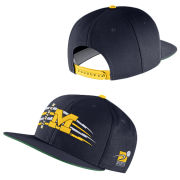 Nike Sports Specialties University of Michigan Navy Pro Flat Brim Snapback Hat