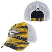 Nike University of Michigan Spring Break Futura Heritage86 Meshback Trucker Hat