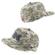 Nike University of Michigan Baseball Camo On-Field True Dri-FIT Fitted Hat