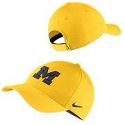 Nike University of Michigan Maize Legacy91 Dri-FIT Tech Hat