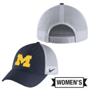Nike University of Michigan Women's Heritage86 Meshback Snapback Hat