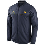 Nike University of Michigan Navy Elite Hybrid Full Zip Jacket