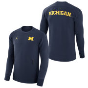Jordan University of Michigan Football Capsule Collection Crewneck Sweatshirt