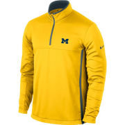 Nike Golf University of Michigan Yellow Therma-FIT 1/4 Zip Pullover