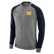 Nike University of Michigan Carbon AW77 Crewneck Sweatshirt