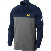 Nike Golf University of Michigan Navy/Gray Therma-FIT 1/4 Zip Pullover