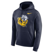 Nike University of Michigan Navy College Vault Wolverine Stadium Club Hooded Sweatshirt