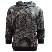 Jordan University of Michigan Football Gray Player Travel Hooded Sweatshirt