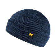 Nike University of Michigan Blue Fishermans Cuffed Knit Hat