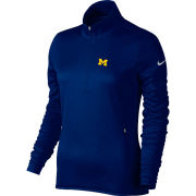 Nike Golf University of Michigan Women's Navy Therma-FIT 1/4 Zip Pullover
