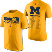 Jordan University of Michigan Football 2016 Season Tee