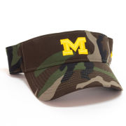 Nike University of Michigan Camo Dri-FIT Visor