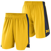 Jordan University of Michigan Basketball Maize Dri-FIT Practice Shorts