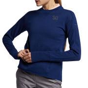 Nike Golf University of Michigan Women's Blue Void Dri-FIT Crewneck Sweatshirt