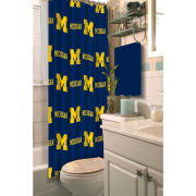 Northwest University of Michigan Shower Curtain