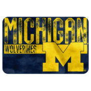 The Northwest University of Michigan Printed Bath Foam Mat