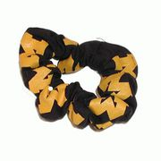 Michigan Scrunchie Navy & Gold