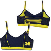 NuYu University of Michigan Ladies Navy and Yellow Sports Nukini