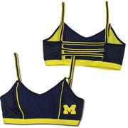 NuYu University of Michigan Ladies Navy and Yellow Sports Nukini