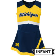 Outerstuff University of Michigan Infant Cheerleader Outfit