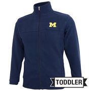 Outerstuff University of Michigan Toddler Navy Polar Fleece Jacket